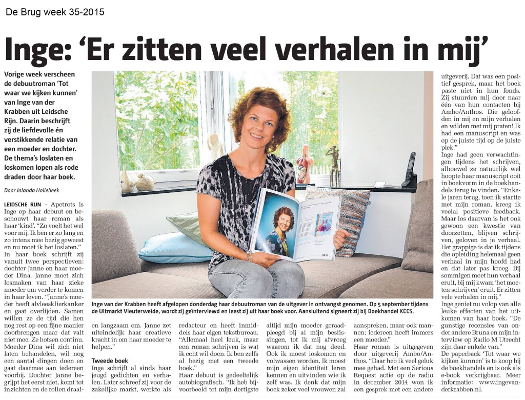 Artikel in De Brug